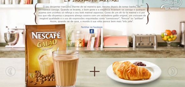Amostra Grátis Nescafé Galão da Nestlé