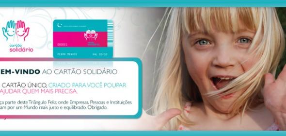Cartão Solidário Ajude enquanto Poupa Dinheiro