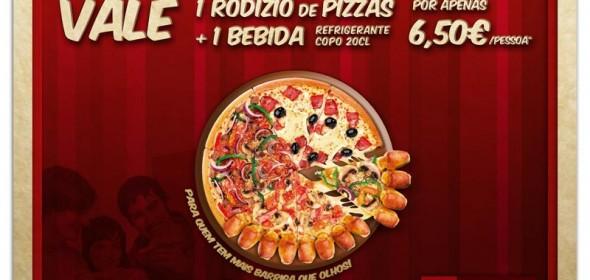 Vale de Deconto Rodizio PizzaHut
