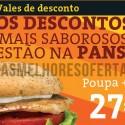 Vales de Desconto Pans & Company 2013