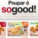 Cupões de Desconto KFC Abril 2014