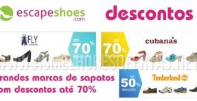 Grandes Descontos em Sapatos na EscapeShoes