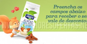 Cupão de Desconto Alpro Almond