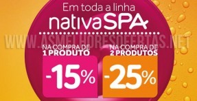 Descontos O Boticário Nativa SPA