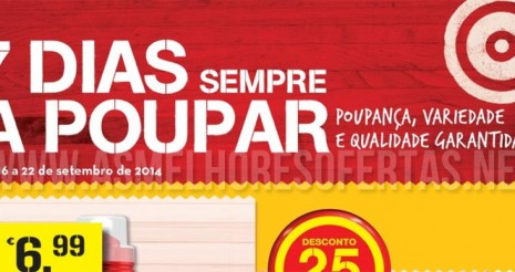 Folheto Continente 16 a 22 de Setembro de 2014