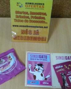 Recebido - Snacks para Gato Whiskas