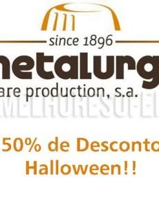Desconto de Halloween A Metalúrgica