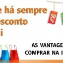 Descontos nas Lojas Online