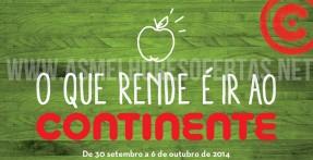 Folheto Continente até 6 de Outubro de 2014