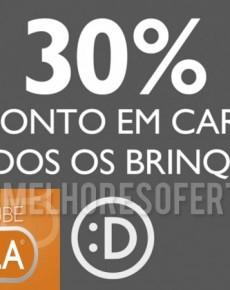 30% de Desconto em Cartão DeBorla