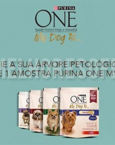 Amostra Grátis Purina One My Dog Is