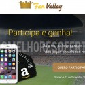 Sorteio iPhone Fan Valley