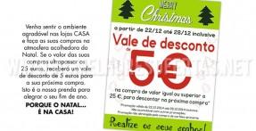 Vale de Desconto de 5 Euros Lojas Casa