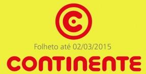 Folheto Continente até 02-03-2015