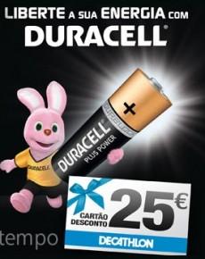 Passatempo Duracell Decathlon