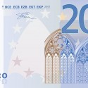 Passatempo Nova Nota de 20 Euros