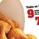 Promoção KFC 4.ªs Feiras