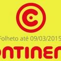Folheto Continente até 09-03-2015