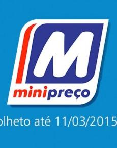Folheto Minipreço até 11-03-2015