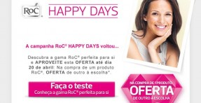Descontos Happy Days RoC