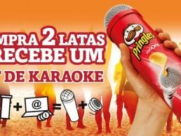 Kit Karaoke Pringles