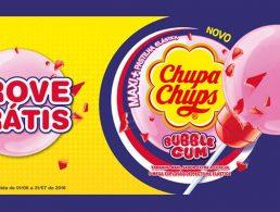 Prova Grátis Chupa Chups Bubble Gum