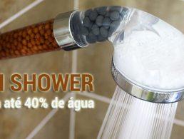 Zen Shower Poupa até 40% de água