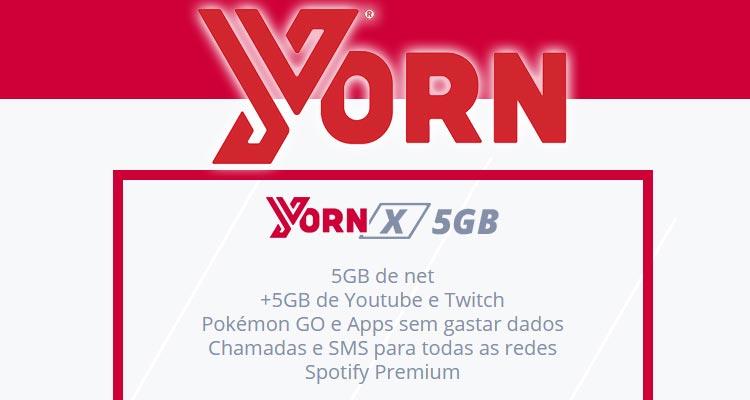 Cartão Yorn Grátis