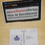 amostra de perfume Escada