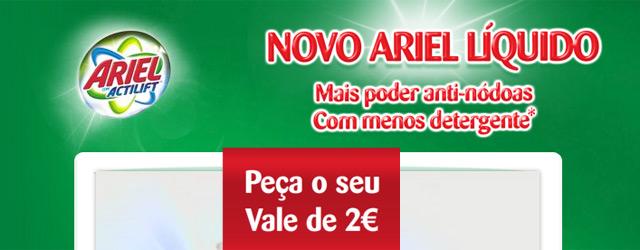 Photo of Vale de Desconto ARIEL 2 Euros