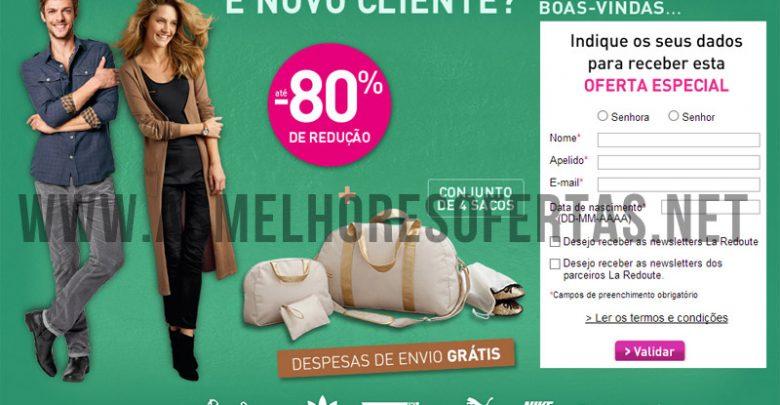 f14a7aece1 As Melhores Ofertas   Desconto de 80% e 1 Presente de La Redoute