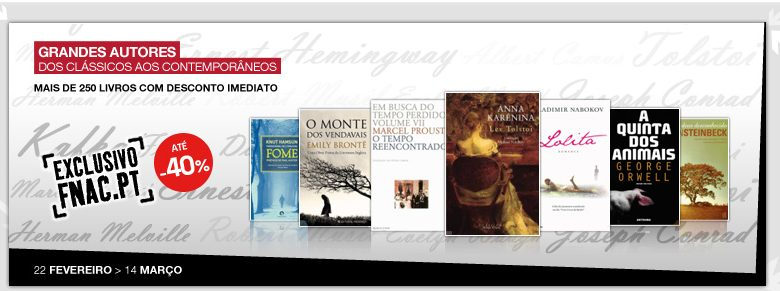 Photo of Grande Promoção FNAC Livros com Descontos até 40%