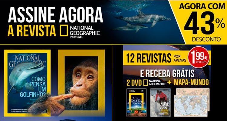 Photo of Revista National Geographic com 43% de Desconto