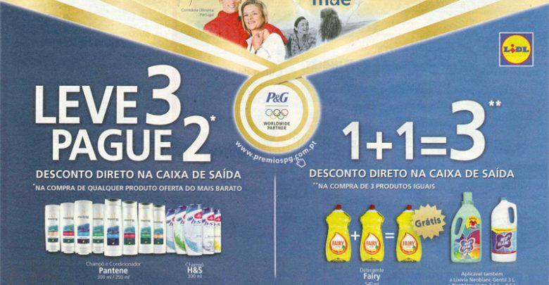 Photo of Campanha Lidl e P&G Pague 2 Leve 3