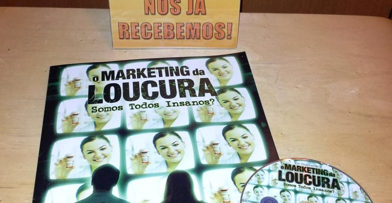 Photo of Recebemos o DVD Grátis O Marketing da Loucura