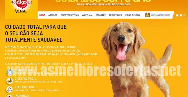 Photo of Novo site e vales de desconto Pedigree
