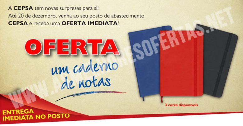 Photo of Caderno de Notas Cepsa Grátis
