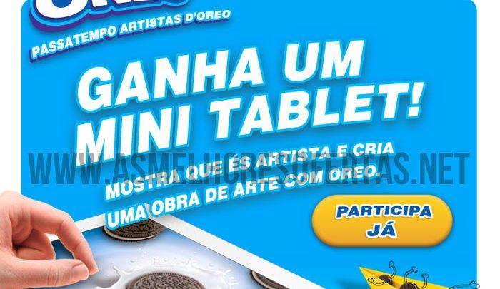 Passatempo Oreo Ganha 1 iPad Mini