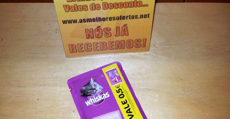 Photo of Recebemos a Amostra Grátis o Vale de Desconto Whiskas Simplesmente Bom