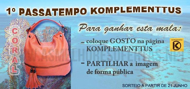 Photo of Passatempo Komplementtus Oferece 1 Mala Coral