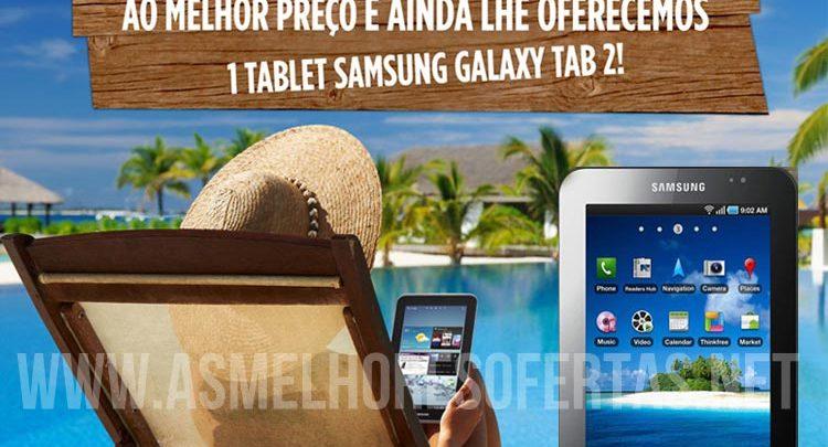 Photo of Halcon Viagens Oferece 1 Tablet Samsung Galaxy Tab 2