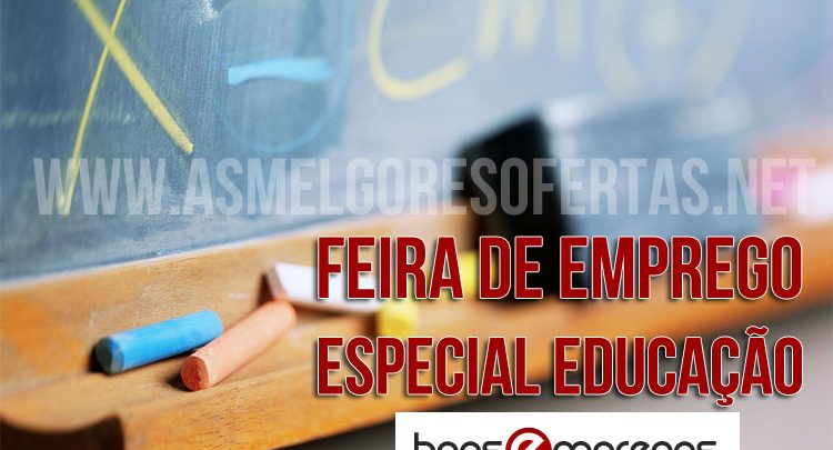 Feira de Emprego Especial Educação