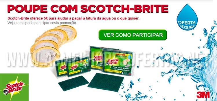 Photo of Ganhe 5 Euros com Scotch-Brite