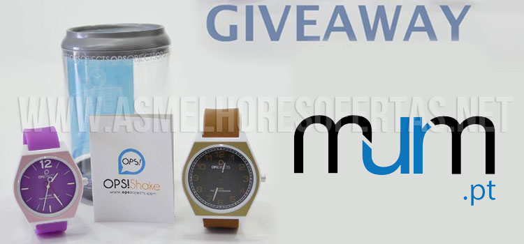 Photo of Giveaway MurM: Relógio Ops