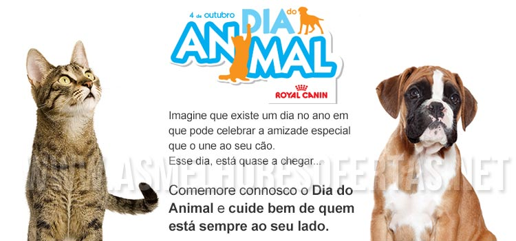 Vales Royal Canin Dia Mundial do Animal
