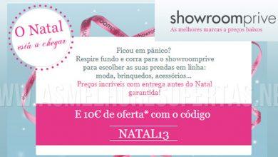 10 Euros Desconto ShowroomPrivé