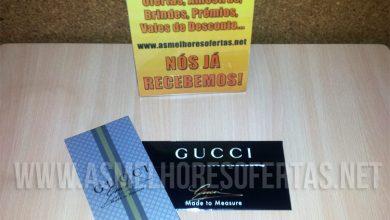 Amostra Grátis Perfume Gucci Made to Measure Recebida