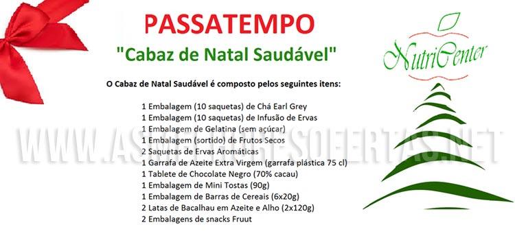 Photo of Passatempo Nutricenter Ganhe 1 Cabaz de Natal Saudável