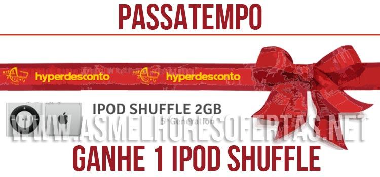 Photo of Passatempo Hyperdesconto iPod Suffle 2GB