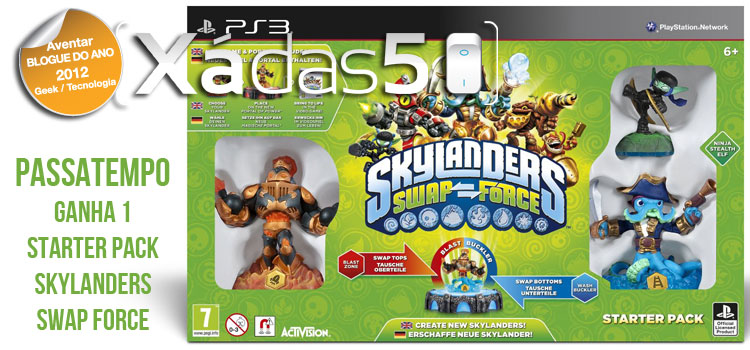 Passatempo Skylander Swap Force